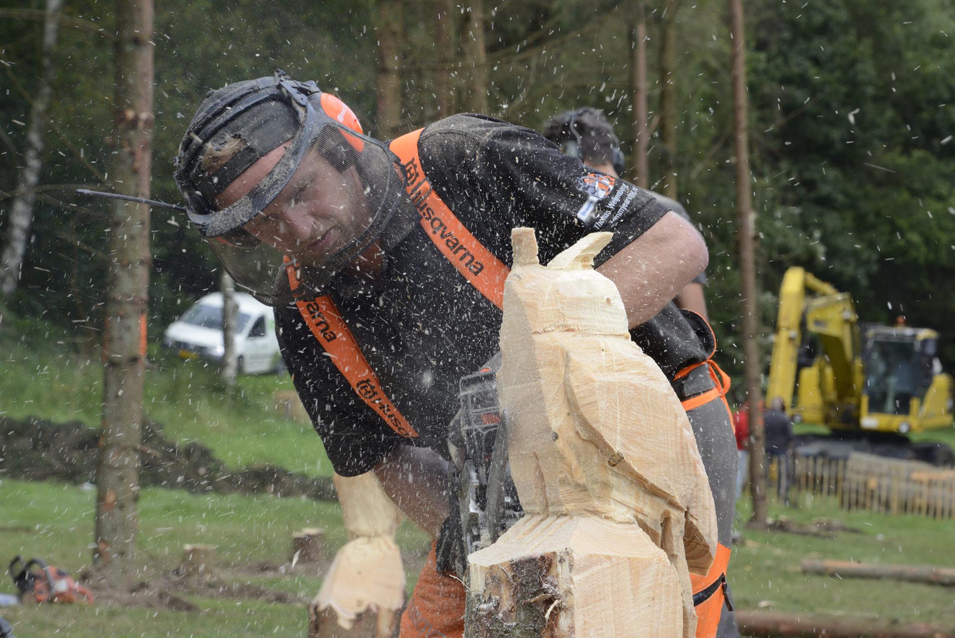 houtsculptuur maken